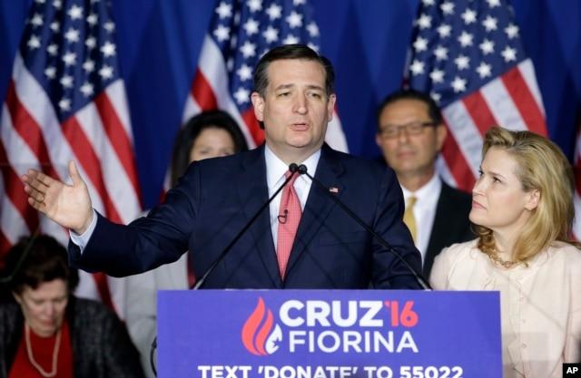 Ứng viên tổng thống của đảng Cộng hòa Ted Cruz tuyên bố chính thức chấm dứt chiến dịch vận động tranh cử.