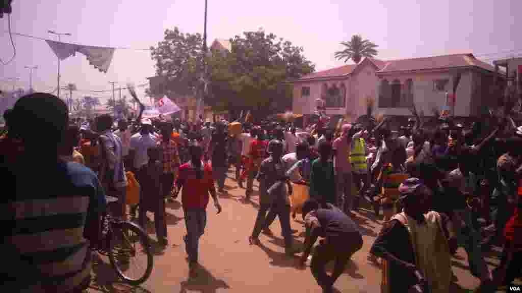 Janaral Buhari a Bauchi, Janairu 31, 2015