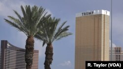 Hotel Tramp Internšenel u Las Vegasu.