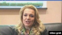 Sanja Vlahović, ministarka nauke u Vladi Crne Gore