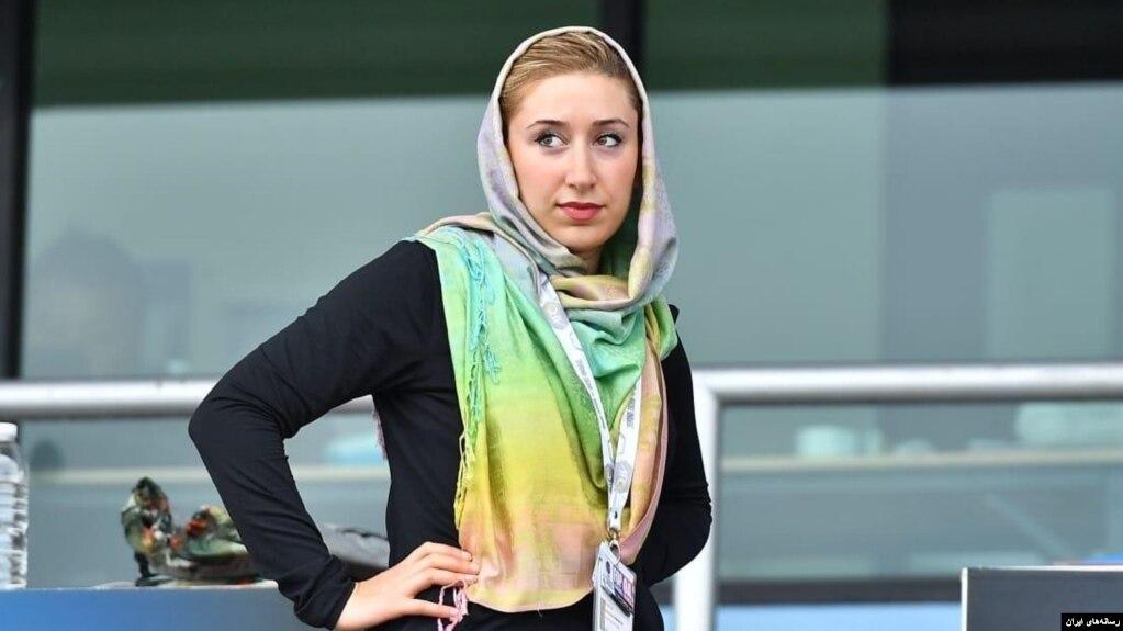 «کتایون خسرویار» آمریکایی ایرانی تبار، 12 سال پیش به تیم ایران پیوست.