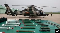 中國軍方武器(資料圖片)