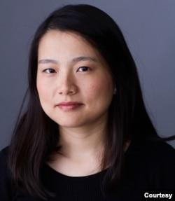人权观察中国部研究员王亚秋。(照片由本人提供)