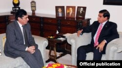 کمیشن کے سربراہ جاوید اقبال کی وزیراعظم اشرف سے ملاقات