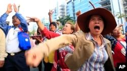 Các vụ đối đầu chính trị đã gây rạn nứt trong một số gia đình ở Thái Lan.