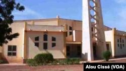 L'Église de la Soeur enlevée, à Koutiala, au Mali, le 8 février 2017. (VOA/Alou Cissé)