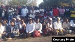 FILE: Part of the crowd that attended the Itai Dzamara prayer rally. (Photo: Courtesy Occupy Africa Unity Square)