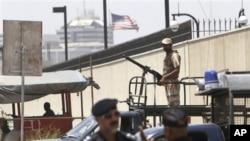 巴基斯坦當局加強美國駐卡拉奇領事館的保安