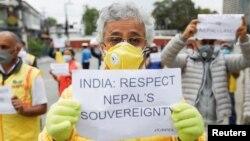 سڑک کی تعمیر کے خلاف نیپال میں احتجاج بھی کیا جا رہا ہے۔ (فائل فوٹو)
