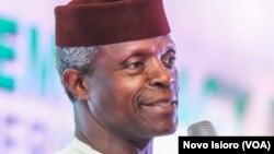 Mataimakin Shugaban Nigeria Farfesa Yemi Osibanjo