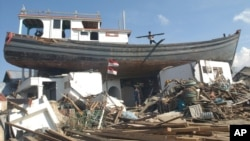 Gempa dan tsunami di Aceh pada 2004 silam menewaskan ratusan ribu orang.