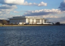 The Kennedy Center on the Potomac River in Washington