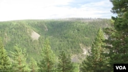 西伯利亚东部地区被划入免费分发土地的法案内。(美国之音白桦拍摄)