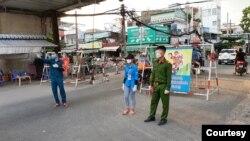 Chốt gác. (Hình: Nguyễn Văn Châu)