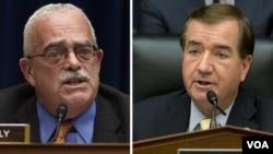 اد رویس و جری کانلی دو نماینده جمهوریخواه و دموکرات که قطعنامه را تهیه کرده اند.