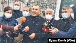 Endamê Lijneya Birêvebirina Merkezî ya Partîya Demokratîk ya Gelan (HDP) Ferhat Encu