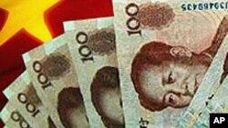 中國通貨膨脹率下降