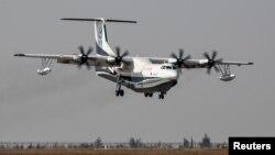 Chiếc thủy phi cơ AG600 do Trung Quốc chế tạo.