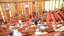 Zauren majalisar dattawan Najeriya (Facebook/Nigerian Senate)