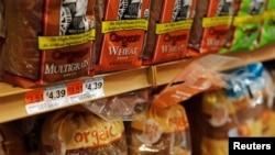Giá bánh mì ở New York, 7 tháng Tư, 2021. Hiện đang có cuộc tranh luận về hệ quả của lạm phát từ các gói cứu trợ kinh tế giữa Covid-19.