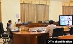 (သတင္းဓာတ္ပံု - Myanmar State Counsellor Office)