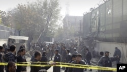 Suicide Blast Rocks Afghan Capital