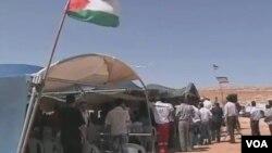 约旦河西岸牧民(视频截图)