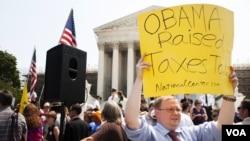 美國總統奧巴馬醫保法在國內遭到反對