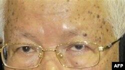 Cựu chủ tịch Khmer Ðỏ Khieu Samphan