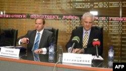 Владимир Орлов и Джозеф Сиринционе
