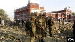 Pejabat AS heran, pemberontak Taliban telah meninggalkan tempat sebelum pasukan Pakistan tiba (foto: ilustrasi).