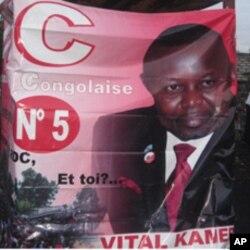 Affiche de Vital Kamerhe à Goma, RDC (novembre 2011)