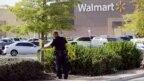 Ảnh minh họa: Cảnh sát bảo vệ hiện trường một vụ chết người ở bãi đậu xe của Walmart ở San Antonio, bang Texas, Mỹ. Vụ nổ súng giết chết bé gái 7 tuổi vào ngày 30/12/2018 cũng xảy ra tại một bãi đậu xe của Walmart ở Houston, Texas.