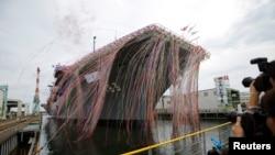 日本海上自卫队的出云级直升机驱逐舰