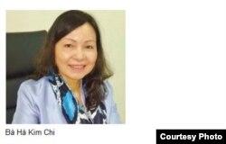 Bà Hà Kim Chi – Ủy viên Ban thường vụ, Trưởng ban kiểm tra - Hội nhà báo Việt Nam. (Ảnh: congluan.vn)
