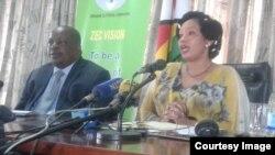 UJustice Priscilla Chiguma lesinye isiphathamandla seZimbabwe Electoral Commission.