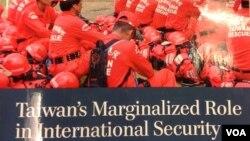 美国战略与国际研究中心报告 《台湾在国际安全的边缘化角色》(美国之音钟辰芳拍摄)