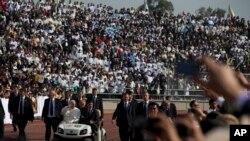 El papa Francisco estará el miércoles en Ciudad Juárez en la frontera con EE.UU. para orar por la migración.
