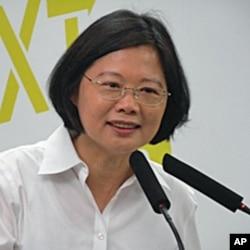 民进党主席 蔡英文