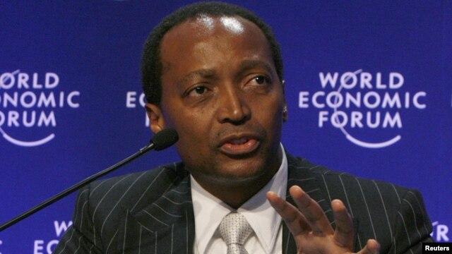 Milyarder Patrice Motsepe, CEO perusahaan African Rainbow Minerals di Afsel memiliki kekayaan bersih sekitar 2,65 milyar dolar (foto: dok).