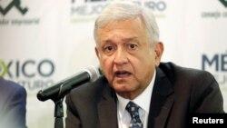 El presidente electo de México, Andrés Manuel López Obrador, dice que invitará al presidente de EE.UU., Donald Trump, a su toma de posesión el 1 de diciembre próximo.
