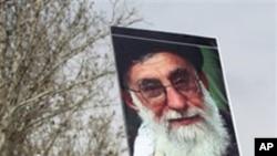 Un partisan du gouvernement iranien.