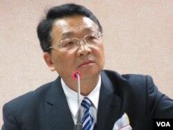 在野的民進黨立委 陳歐珀( 美國之音張永泰拍攝)
