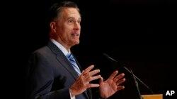Ông Mitt Romney, cựu ứng viên tổng thống của đảng Cộng hoà.