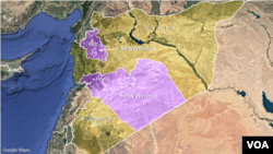 Idlib and Homs provinces, Syria
