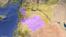 시리아의 이드리브와 홈스 주 위치.