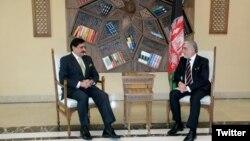 ناصر جنجوعہ کی افغان چیف ایگزیکٹو عبداللہ عبداللہ سے ملاقات