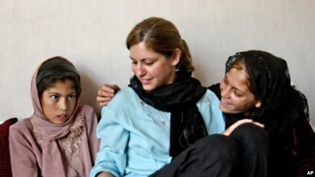 Susan Retik Ger visited Afghanistan and some of the women she helps with her organization, 'Beyond the 11th.'