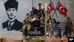 Türkiye'nin 9 Ekim'de başlattığı sınır ötesi operasyona katılan yerel birlikler