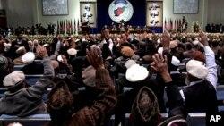آخرین بار لویه جرگۀ مشورتی در افغانستان در دسامبر ۲۰۱۳ برای تصمیم گیری در مورد امضای توافقنامۀ امنیتی با امریکا برگزار شد